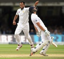 Ecstasy and agony: Wahab Riaz and James Vince display contrasting emotions, England v Pakistan, 1st Investec Test, Lord's, 4th day, July 17, 2016