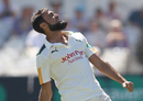 Imran Tahir celebrates a seven-wicket haul, Nottinghamshire v Somerset, Specsavers Championship Division One, Trent Bridge, July 19, 2016