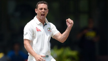 Steve O'Keefe collected his second five-wicket haul of the tour match
