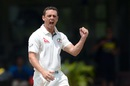 Steve O'Keefe collected his second five-wicket haul of the tour match, Sri Lankan XI v Australians, Colombo, 3rd day, July 20, 2016
