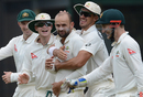 Nathan Lyon bagged two wickets, Sri Lankan XI v Australians, Colombo, 3rd day, July 20, 2016