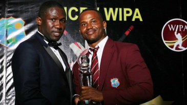 Marlon Samuels was named the ODI Player of the Year and Cricketer of the Year in WICB's annual awards function