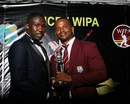 Marlon Samuels was named the ODI Player of the Year and Cricketer of the Year in WICB's annual awards function, Antigua, July 19, 2016