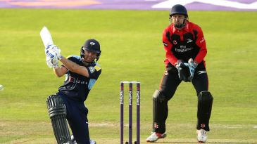 Adam Lyth made his best T20 score