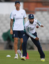Adil Rashid practices with England at Old Trafford, England v Pakistan, 2nd Investec Test, Old Trafford, July 21, 2016