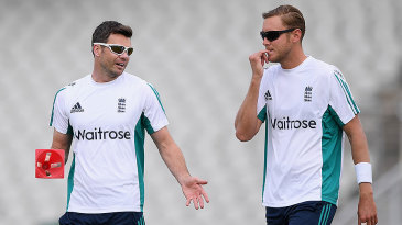 James Anderson and Stuart Broad will be reunited at Old Trafford