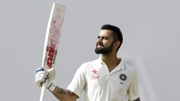 Virat Kohli scored his 12th century