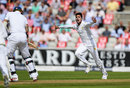 Mohammad Amir bowled Alex Hales for Pakistan's first breakthrough, England v Pakistan, 2nd Investec Test, Old Trafford, 1st day, July 22, 2016