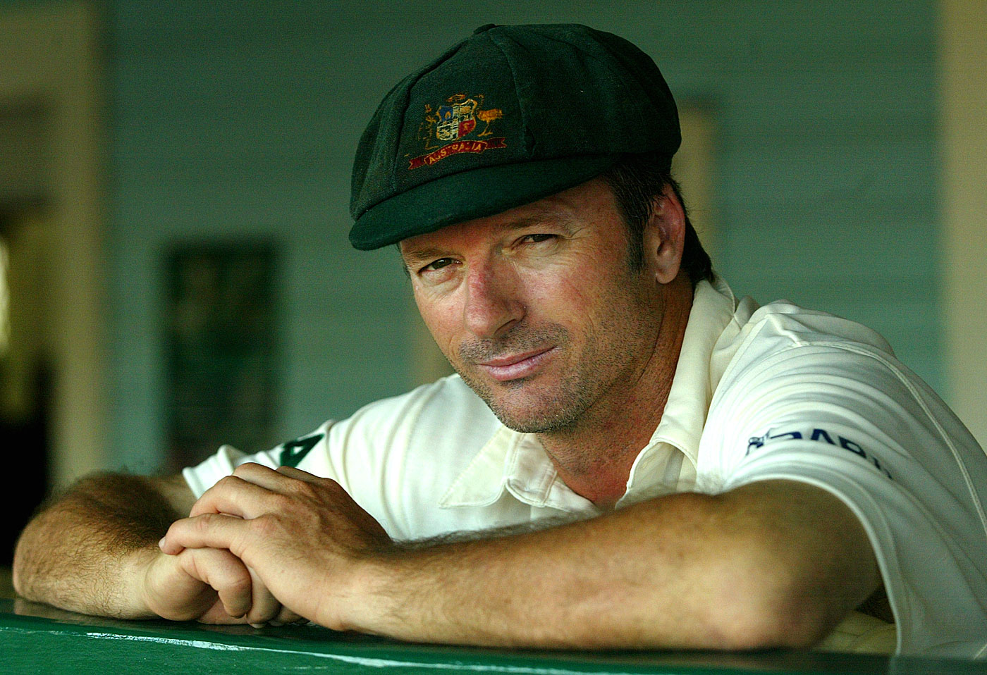Steve Waugh portrait