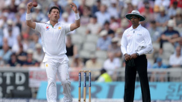 Yasir Shah was left frustrated