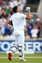 Alastair Cook raised three figures during the afternoon, England v Pakistan, 2nd Investec Test, Old Trafford, 1st day, July 22, 2016
