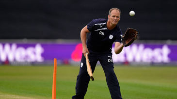 Dale Benkenstein has stood down as Hampshire's head coach