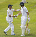 Joe Root gets more handshakes, this time from Yasir, after falling for 254, England v Pakistan, 2nd Investec Test, Old Trafford, 2nd day, July 23, 2016