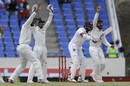 Devendra Bishoo survives an lbw appeal, West Indies v India, 1st Test, Antigua, 3rd day, July 23, 2016
