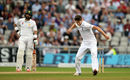 Chris Woakes took his fourth wicket with the last ball before lunch, England v Pakistan, 2nd Investec Test, Old Trafford, 3rd day, July 24, 2016