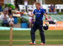 Sam Billings raced to a 97-ball century, England Lions v Pakistan A, Tri-series, Canterbury, July 24, 2016