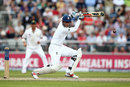 Alex Hales drives through point, England v Pakistan, 2nd Investec Test, Old Trafford, 3rd day, July 24, 2016