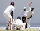 R Ashwin delivers to Jason Holder, West Indies v India, 1st Test, Antigua, 4th day, July 24, 2016