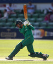 Jaahid Ali struck 103 in Pakistan A's chase, England Lions v Pakistan A, Tri-series, Canterbury, July 24, 2016