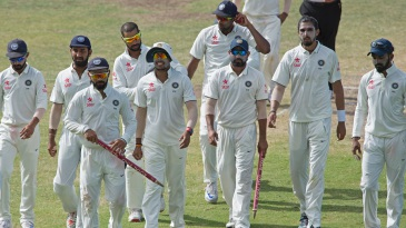 India secured their biggest Test win outside Asia