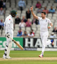James Anderson removed Shan Masood for the sixth consecutive time, England v Pakistan, 2nd Investec Test, Old Trafford, 4th day, July 25, 2016