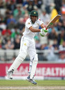 Younis Khan made a skittish start to his innings, England v Pakistan, 2nd Investec Test, Old Trafford, 4th day, July 25, 2016