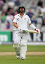 Yasir Shah fell lbw to Moeen Ali for 10, England v Pakistan, 2nd Investec Test, Old Trafford, 4th day, July 25, 2016