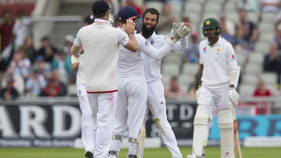 England level series 1-1 after a crushing 330-run victory over Pakistan