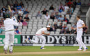 Stuart Broad's catch finished off the match, England v Pakistan, 2nd Investec Test, Old Trafford, 4th day, July 25, 2016