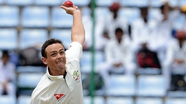 Steve O'Keefe formed a twin-spin attack with Nathan Lyon