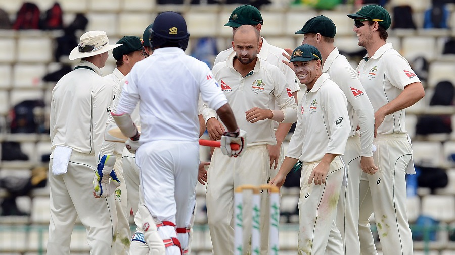 Nathan Lyon got into his groove after lunch