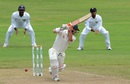David Warner's inside-edged drive sent the leg bail flying, Sri Lanka v Australia, 1st Test, Pallekele, 1st day, July 26, 2016