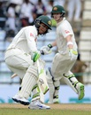 Usman Khawaja and Steven Smith steadied Australia, Sri Lanka v Australia, 1st Test, Pallekele, 1st day, July 26, 2016