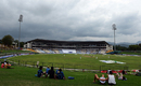 Clouds roll in over the Pallekele International Stadium, Sri Lanka v Australia, 1st Test, Pallekele, 1st day, July 26, 2016