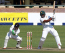 Hamilton Masakadza pierces the off side, Zimbabwe v New Zealand, 1st Test, Bulawayo, 1st day, July 28, 2016