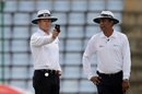 Umpire Richard Kettleborough draws out his light metre, Sri Lanka v Australia, 1st Test, Pallekele, 3rd day, July 28, 2016