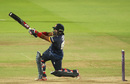 Ashar Zaidi launches down the ground, Middlesex v Essex, NatWest T20 Blast, South Group, Lord's, July 28, 2016