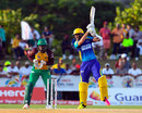 David Wiese pings one through point, Barbados Tridents v Guyana Amazon Warriors, CPL 2016, Lauderhill, July 28, 2016