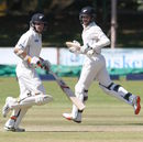 Tom Latham and Kane Williamson put on a century stand, Zimbabwe v New Zealand, 1st Test, Bulawayo, 2nd day, July 29, 2016
