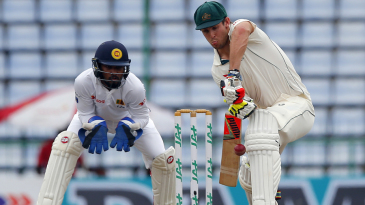 Mitchell Marsh defends watchfully