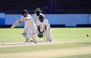 BJ Watling works one away to the on side, Zimbabwe v New Zealand, 1st Test, Bulawayo, 3rd day, July 30, 2016