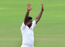 Rangana Herath celebrates after dismissing Steve O'Keefe, Sri Lanka v Australia, 1st Test, Pallekele, 5th day, July 30, 2016