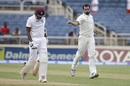 Mohammed Shami had Rajendra Chandrika caught at gully, West Indies v India, 2nd Test, Kingston, 1st day, July 30, 2016