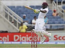 Jermaine Blackwood gets on top of the bounce, West Indies v India, 2nd Test, Kingston, 1st day, July 30, 2016