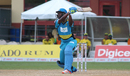 Johnson Charles lofts a shot over cover, Jamaica Tallawahs v St Lucia Zouks, CPL 2016, Lauderhill, July 30, 2016