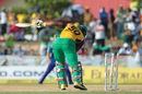 Dwayne Smith is castled by Raymon Reifer, Barbados Tridents v Guyana Amazon Warriors, CPL 2016, Lauderhill, July 30, 2016