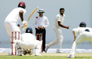 R Ashwin bowls, West Indies v India, 1st Test, Antigua, 4th day, July 24, 2016