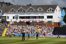 A good crowd watches on at the St Helen's ground, Glamorgan v Hampshire, Royal London Cup, South Group, Swansea, July 31, 2016