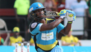 Johnson Charles clears the leg side on his way to a half-century, Jamaica Tallawahs v St Lucia Zouks, CPL 2016, Lauderhill, July 31, 2016