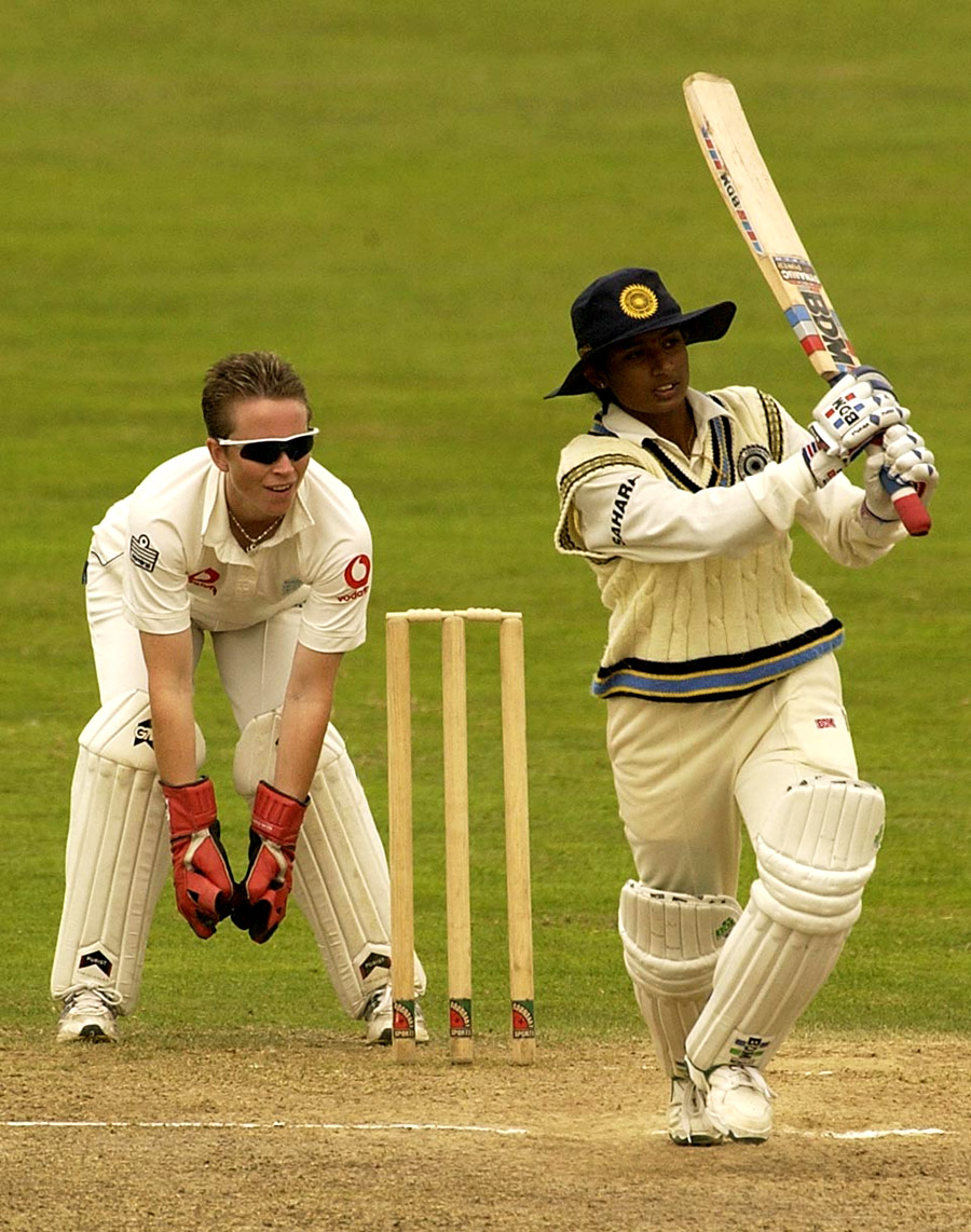 The Taunton double-hundred in 2002 cemented Mithali's reputation as a formidable batsman